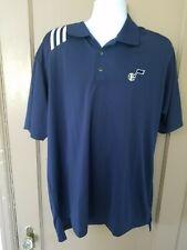 adidas Utah Jazz - Navy ClimaLite Polo Shirt (XL) new