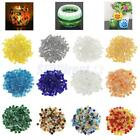 250x Vitreous Glass Mosaic Tiles Pieces for DIY Crafts Material Supplies 10x10mm