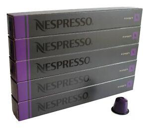 50 ORIGINAL NESPRESSO COFFEE CAPSULES PODS -  ARPEGGIO (Intensity: 9)