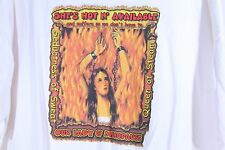 Our Lady of Menopause T-Shirt XXL Seductress of Sweat Queen of Steam GAG Funny