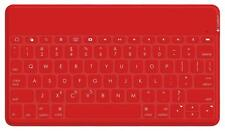 Logitech Keys-To-Go Red ultra-Portable Bluetooth Keyboard iPad iPhone Apple TV