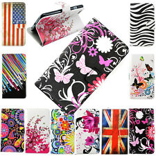 Wallet Design Flip Phone Leather Case Cover for Samsung Galaxy Note 4 3 2 S4 S5
