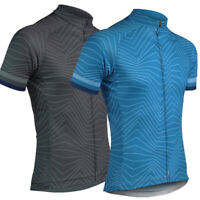 Mens Striped Cycling Short Sleeve Jersey Bike Race Maillots Ropa Ciclismo Shirts