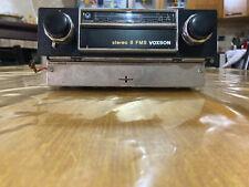 AUTORADIO D'EPOCA - VOXSON GN-108SR - STEREO 8 FMS BOCCANERA