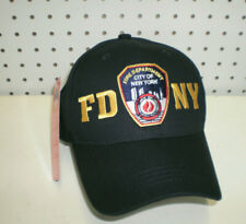 New Men's FDNY New York City Fire Department Embroidered Adjustable Cap Hat