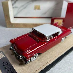 1/43 GLM Stamp Cadillac Elodorado Sevile 1957 Dakota Red STM57001