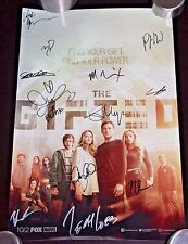 SDCC 2017 MARVEL'S THE GIFTED Cast AUTOGRAPHED Poster x 12! Stephen Moyer NEW