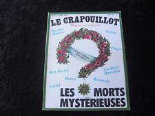 LE CRAPOUILLOT n° 51 ETE 1979 LES MORTS MYSTERIEUSES
