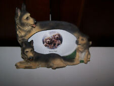 """GERMAN SHEPHERD Dogs Pictue Frame HOLDS 4"""" x 6"""" Photo New"""