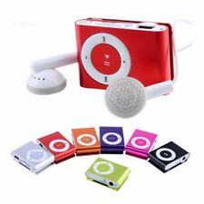 Mp3 Player Metall Clip Music Player bis zu 32GB Speicherkarte Neu Zubehörpaket