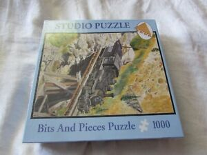 Studio PUZZLE Bits and Pieces 2007 Bridge Near Ophir train locomotive SEALED