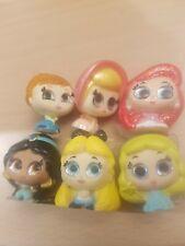 Doorables Set Of 6 Jasmine Ariel Anna Bo Peep Alice and Blue fairy