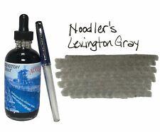 Noodler's Fountain Pen Ink - 4.5oz Bottle - 19804 - Lexington Gray w/ free pen