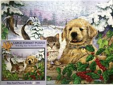"WINTER COMPAINIONS - 300 LARGE PIECE PUZZLE - BITS & PIECES - SIZE 18"" X 24"""