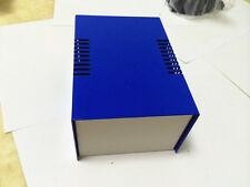 "Blue DIY Metal Electronic Project Box / Transformer Enclosure Case 5.9""x4""x2.9"""