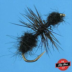 Ant BLACK Dry Premium Fly Fishing Flies - One Dozen - Sizes Available***
