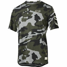 Fox Racing Ranger Dri Release s/s Short Sleeve Jersey Green Camo