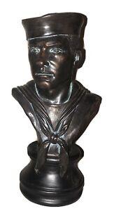 Vanmark American Heroes, US Navy Seaman -  Military Sculpture Bust Figurine