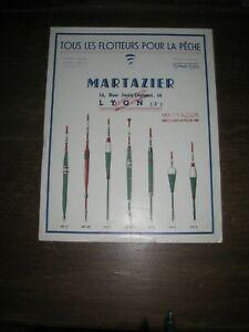 catalogue  pèche ancien flotteur martazier lyon