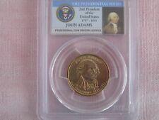 2007 PCGS MS65 John Adams Presidential Dollar - Error Coin