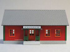MTH RAIL KING LIGHTED COUNTRY SCHOOL HOUSE gauge train illuminated 30-90465 NEW
