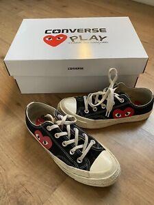 Comme Des Garcons Converse size 4UK with original box