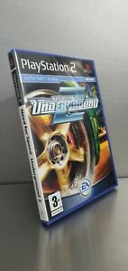 Sealed Need for Speed Underground 2 Playstation PS2 Brand New Case, Mint A+