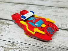 Hasbro Transformers Robot Heroes Rescue Bots Heatwave fuego barco figura de acción