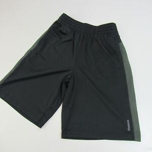 Reebok Playdry Athletic Soccer Shorts Youth Size M Black Medium YM Boys 10-12