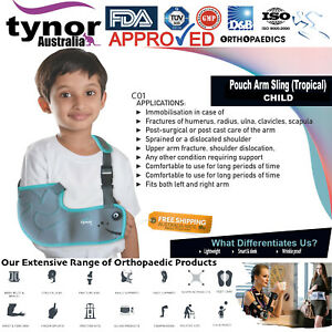 Tynor™ Child Arm Sling Shoulder Wrap Support Brace Injury Wrinkle Proof Fracture