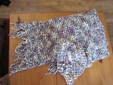 écharpe et  bonnet,neufs,tricoté main