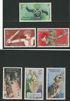 Laos, Scott #C14-C19, Complete Set of 6, Mint, Very Lightly Hinged, Very Fine