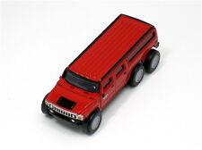 SUNTORY Coffee BOSS HUMMER LIMOUSINE Diecast Pull Back Mini Car Model H2 Red