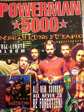 Powerman 5000, Full Page Promotional Ad