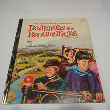 BEDKNOBS AND BROOMSTICKS Walt Disney D125 SYD 1972 Sydney LITTLE GOLDEN BOOK