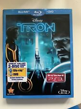 Tron: Legacy (Blu-ray/DVD, 2011, 2-Disc Set) With Slipcover And All Inserts