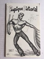 June 1966 Physique Pictorial Gay Men's Magazine w/ Early Tom of Finland Art