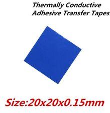 20pcs 3M 20x20mm Thermally Conductive Adhesive Transfer Tapes Thermal Pad