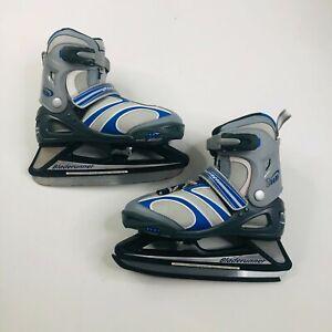Bladerunner Zoom 6.0 Youth Ice Skates Adjustable Sizes US 4 - 7 Straps Winter
