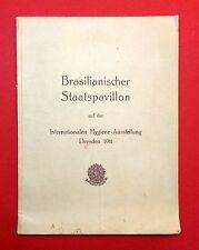 Original Broschüre Intern. Hygiene Ausstellung Dresden 1911    RAR  ( F12968
