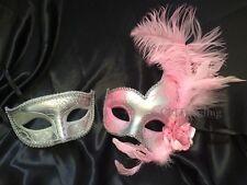 Couple Masquerade Ball Eye Mask Costume Halloween School Prom Wedding Bachelor