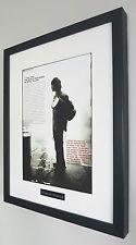 Stone Roses Framed Original Programme-Plaque-Certificate-Very Rare-Ian Brown