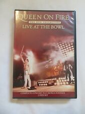 Queen On Fire Live At The Bowl The DVD Collection 2 DVDs Mint Condition