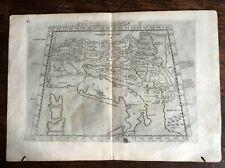 Europa Tabula V. (Austria, Balcani, Italia). 1561/1574