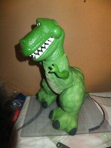 "Fischer Price Pixar/Disney Toy Story 15"" Big Roarin' Rex Plush Dino W/Noise"