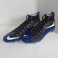 Nike VAPOR UNTOUCHABLE Pro Football Cleats BLACK BLUE 707455 014 SIZE 15