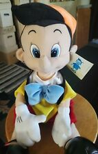 """18"""" PINOCCHIO Plush Doll STUFFED Toys jointed legs RARE NEW"""