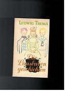 Ludwig Thoma - Die Lausbubengeschichten - 1966