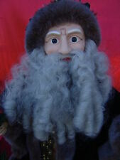 """Vintage Very Large Father Time W/Light/Motion 32""""T Nice"""