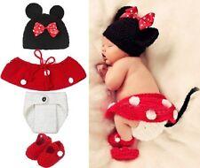 Lot 4 TEILE pour Mignon bébé souris photos Fotoshooting Bonnet pantalons